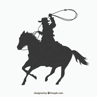 cowgirl silhouette vector free download two beautiful cowboy vectors photos and psd files free download