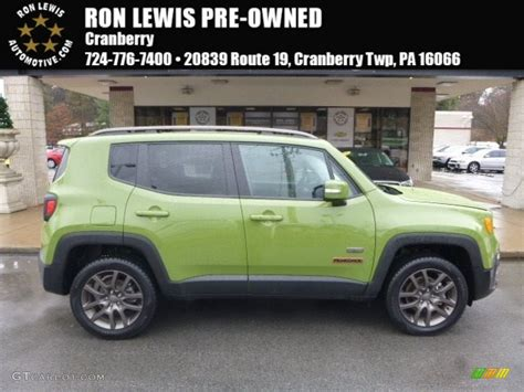 green jeep renegade 2016 jungle green jeep renegade latitude 4x4 118261021