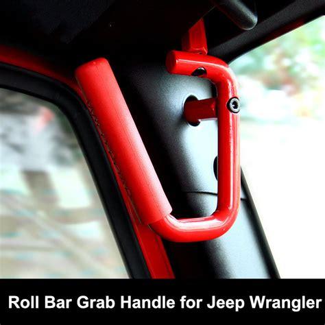 Jeep Wrangler Grab Bars Aliexpress Buy New Roll Bar Grab Handles For