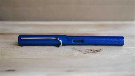blue review lamy al blue pen review
