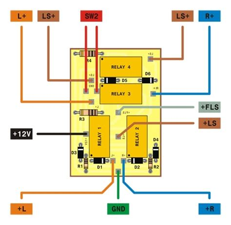 12 wiring diagram power window 4 pintu diy lu