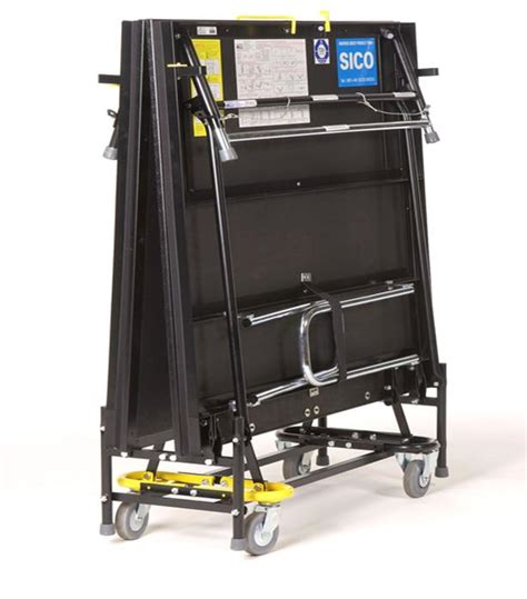 SICO 2000 Series Mobile Folding Stage   Peter Walsh & Sons