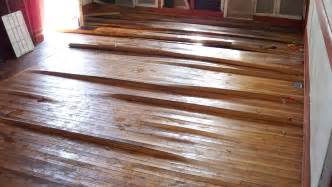 Hardwood Floor Repair Water Damage Flood Damage In