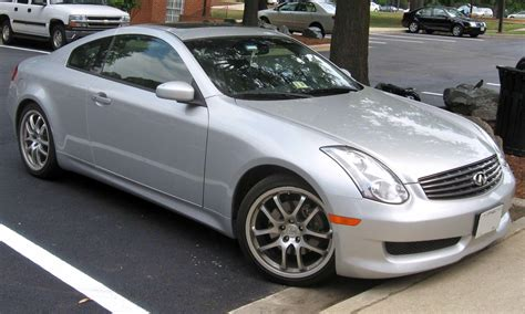 file 2006 infiniti g35 coupe jpg wikimedia commons