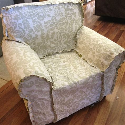 A Slipcover by Creating A Slipcover Diy Upholstery Project Pinsandpetals