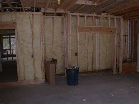 What Of Insulation For Garage Walls by Insulation And Sheetrock