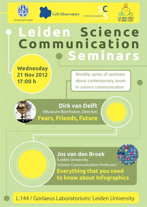 Plakat Seminar Nasional by Science Communication Seminar Poster November 2012 Unawe