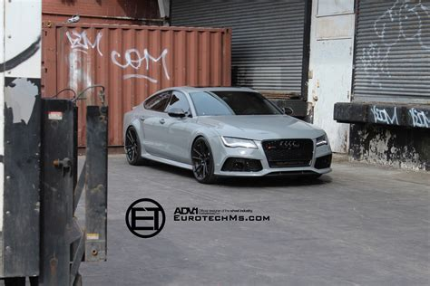 nardo grey truck nardo gray audi rs7 rides on adv 1 wheels autoevolution