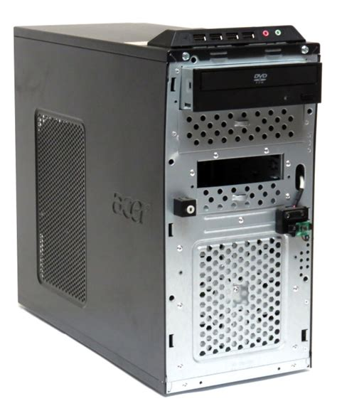 Acer Veriton L460 Dual Mini Pc acer veriton m480g pentium dual e5300 2 6ghz 4gb 320gb dvd rom mini tower computer 10033459