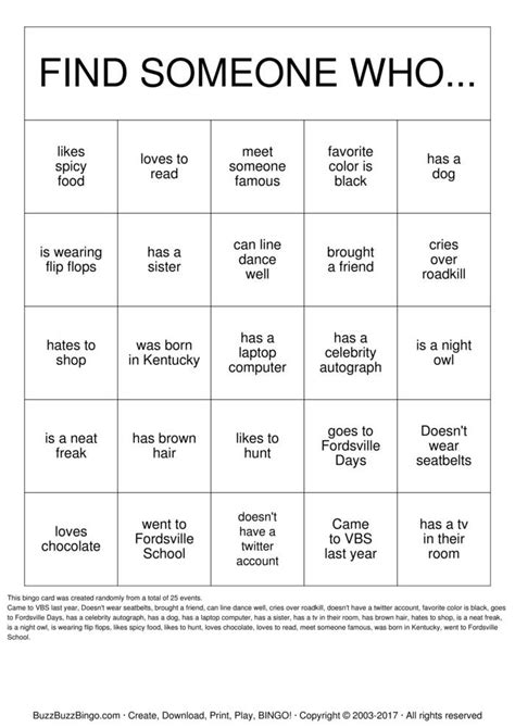 autograph bingo card template getting to you bingo cards to print and
