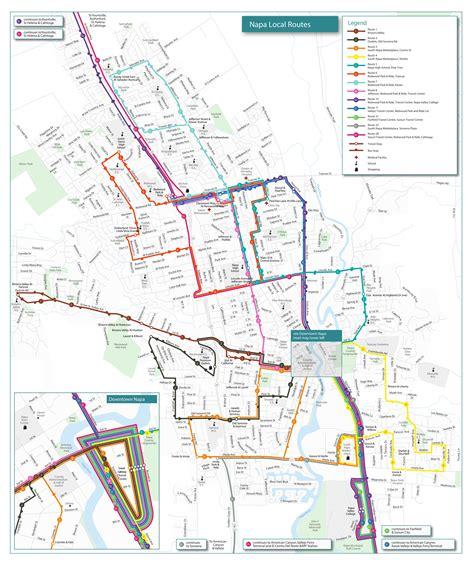 printable job application for napa routes schedules vine transit