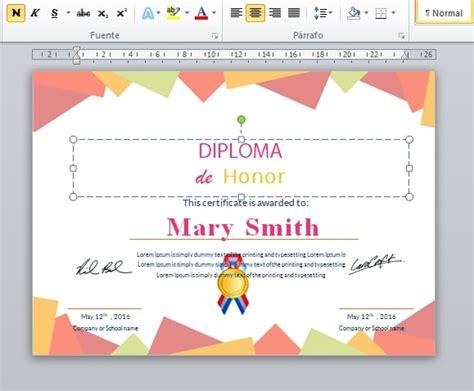 como descargar sertifidos en microsoft gratis plantillas de diplomas para editar e imprimir gratis pdf