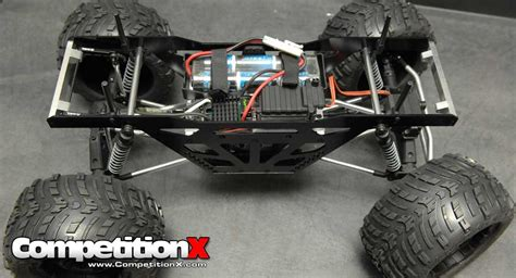 Chassis Hsp Pangolin Axial Scx10 Wraith team strc aluminum truck racing chassis for axial wraith