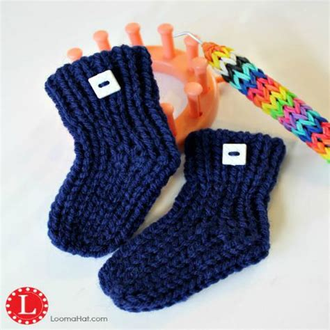 loom knit baby booties loom knit baby booties free pattern with by loomahat
