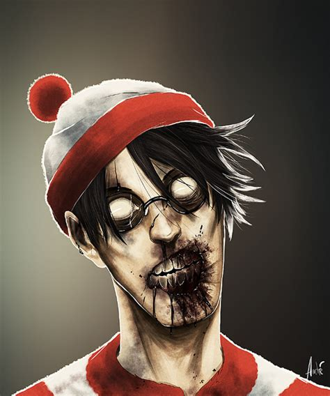 zombie design inspiration cool illustrations of scary characters portrait the