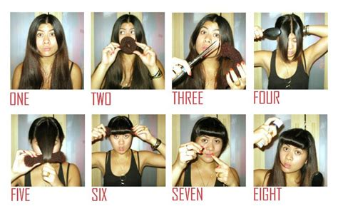 how to bread front bangs steps 20 best fake bangs images on pinterest fake bangs faux