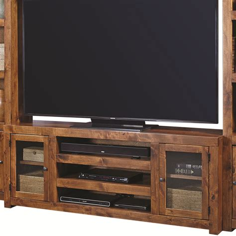 72 inch console aspenhome contemporary alder 72 inch console with 2 doors