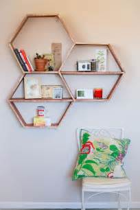 Homemade Home Decor Crafts by Diy Honeycomb Shelves A Beautiful Mess