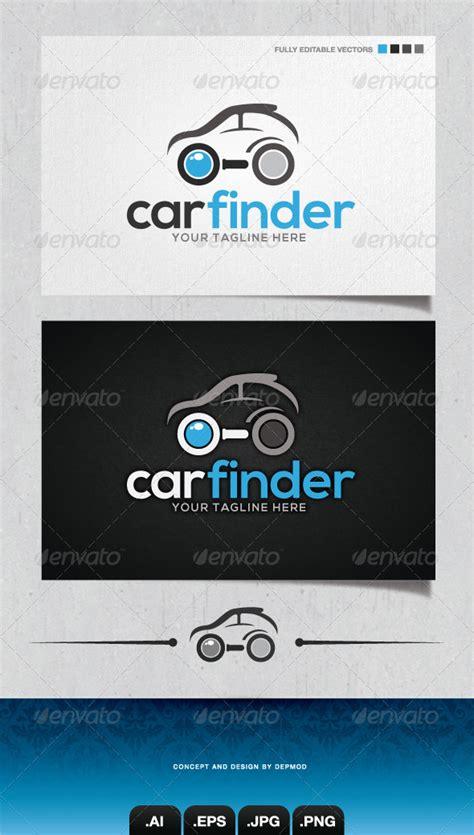 logo finder 4 logo template graphicriver car finder logo 4148376