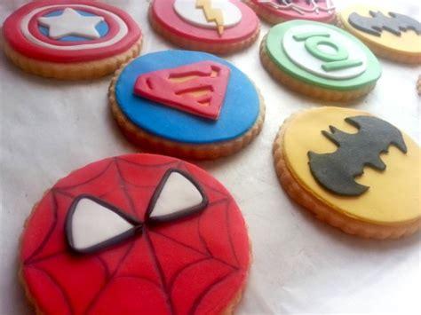decoracion de galletas galletas decoradas superheroes dulce creacion