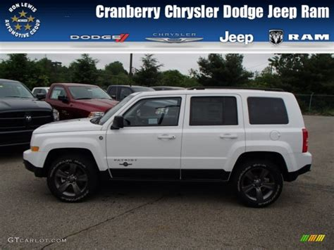 white jeep patriot 2013 bright white jeep patriot oscar mike freedom edition