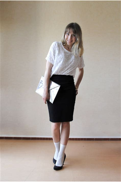 pencil skirt h and m dress