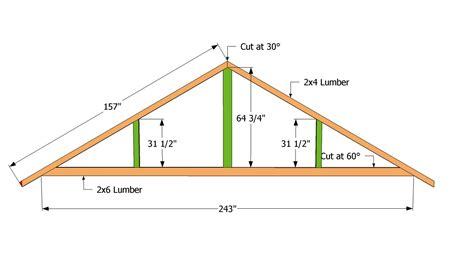 How To Build Trusses For A Garage by Pdf Diy Carport Truss Design Cedar Bench Planter