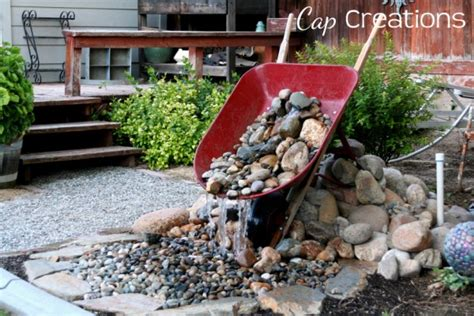 Enliven Planters by 25 Awesome Handmade Outdoor Fountains Shelterness
