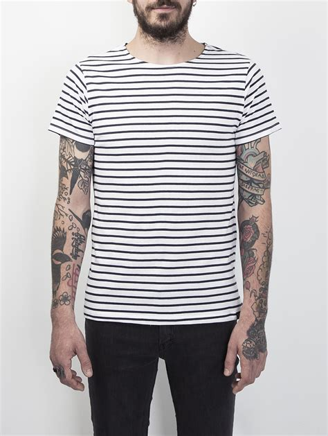Sleeve Stripe T Shirt cleon s sleeve breton striped t shirt stripe