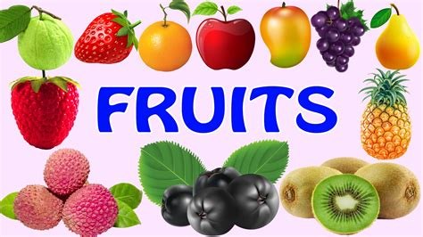 naturist fruits kids learn fruits names for children kids learning fruits