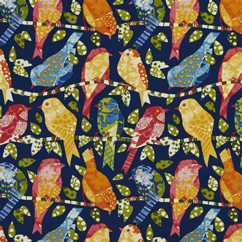 upholstery fabric birds contemporary various birds outdoor indoor upholstery