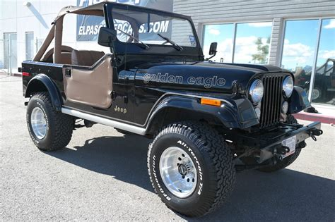 jeep golden eagle for sale 1979 jeep cj7 golden eagle sport utility 2 door 5 0l
