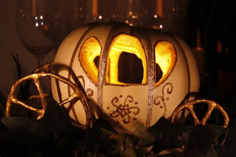 cenerentola zucca carrozza ido it myself diy cinderella pumpkin carriage centerpiece