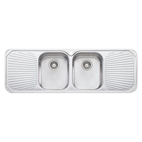 Bunnings Kitchen Sinks Oliveri 1430mm Centre Bowl Sink Bunnings Warehouse