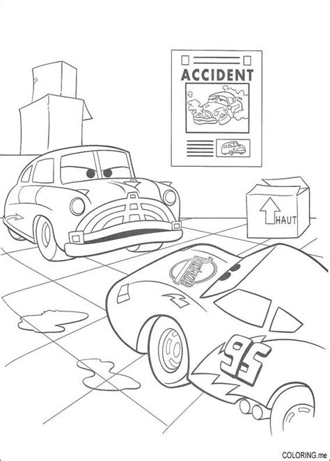 coloring page of car crash car crash coloring pages images