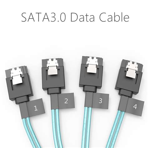 Orico Sata 3 0 Data Cable 1 Line 90cm Cpd 7p6g Ba90 Limited 1 מוצר orico cpd 7p6g bw904s original sata3 0 four set data cable diy solid ssd line black