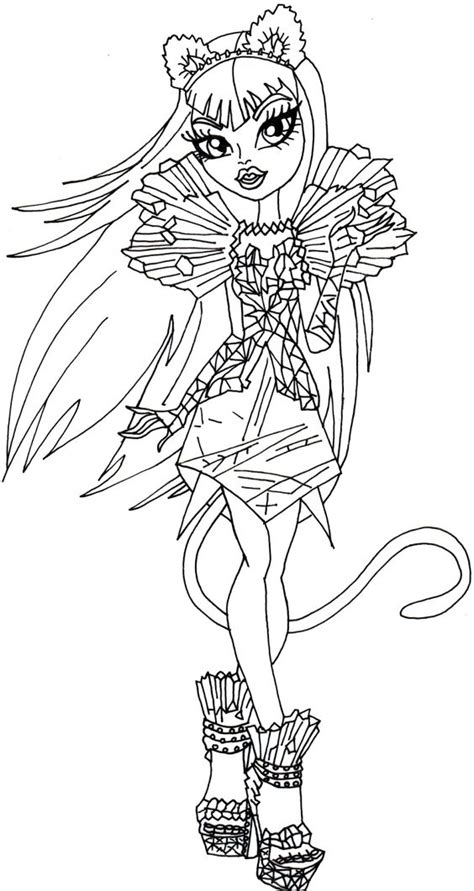 monster high skullette coloring pages pin von niko rosi auf monster high pinterest monster