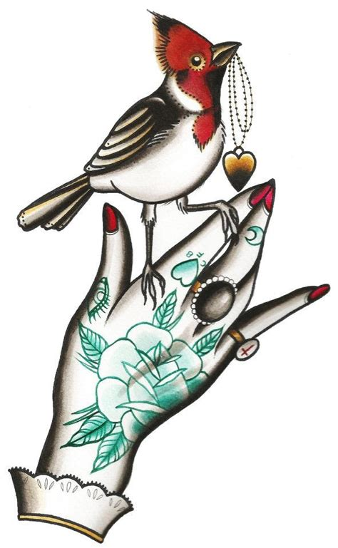 old school bird tattoo designs school school tats style