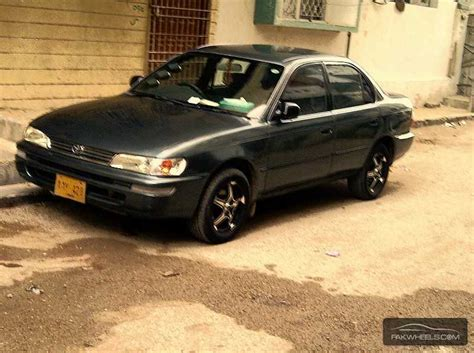 1997 Toyota Corolla For Sale Toyota Corolla Cars For Sale In Karachi Verified Car Ads