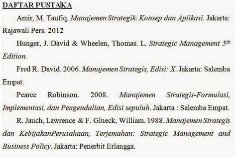 format penulisan daftar pustaka untuk skripsi daftar pustaka