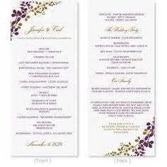 Wedding program template download by diyweddingtemplates on etsy 8