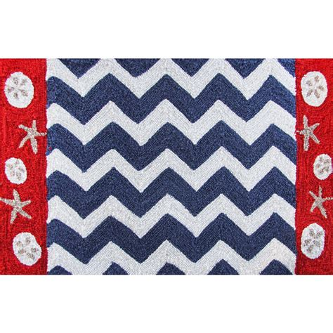 nautical rugs nautical chevron accent rug