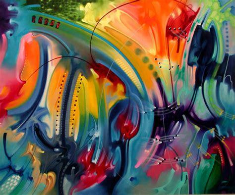 imágenes abstractas arte decorativo abstractos colores vivos im 225 genes de pinturas pinteres