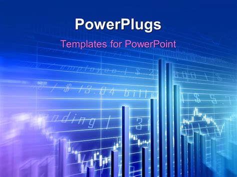 117 best images about marketing powerpoint templates on powerpoint template stock market data behind blue bar