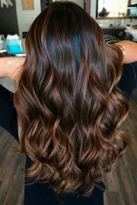 highlight colors for brown hair hair color 2017 2018 highlights for brown hair are