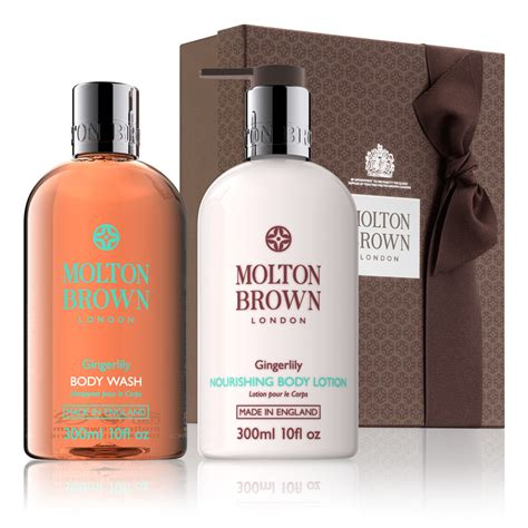 molton brown bath and shower gel gingerlily gift set gifts for molton brown 174 uk