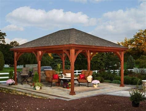 backyard pavilion Pavilions and gazebos Pinterest