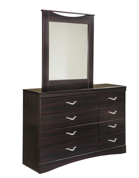 zanbury dresser mirror b217 31 36 bedroom dressers