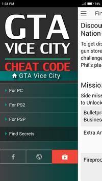 cheat code  grand theft auto vice city gta game