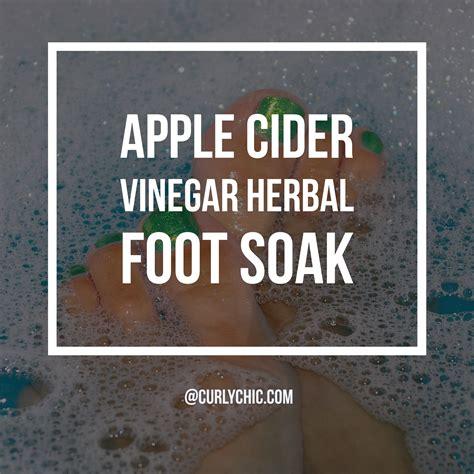 Apple Cider Foot Bath Detox by Apple Cider Vinegar Foot Soak Soothing Herbal Detox
